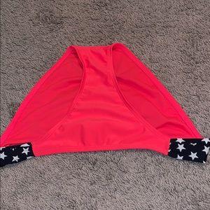 Hot Pink & Navy Blue Bikini Bottom